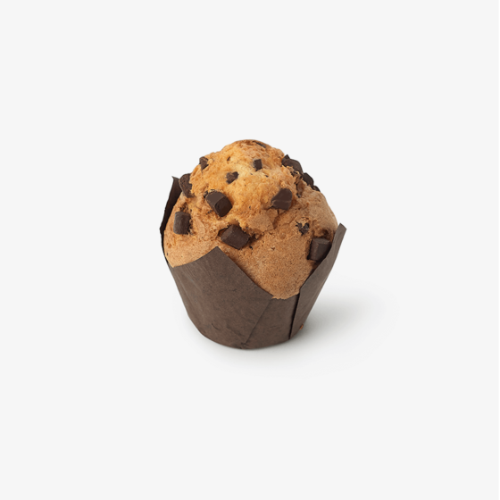 Muffin vainilla con pepitas chocolate sin gluten