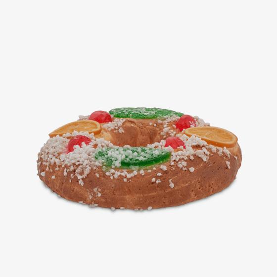 Roscón de reyes tradicional sin gluten