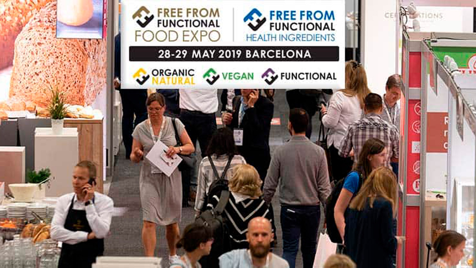 Free From Functional Food vuelve a Barcelona