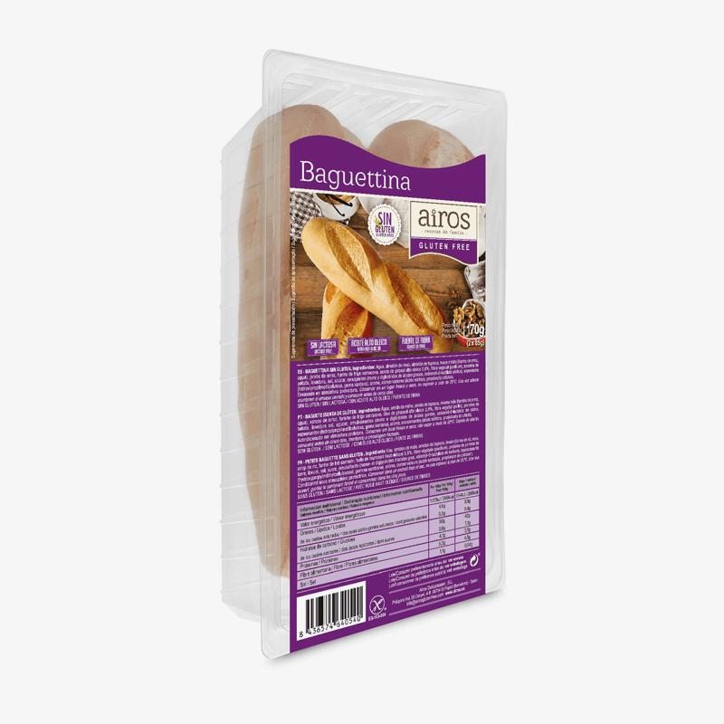 Baguettina sin gluten
