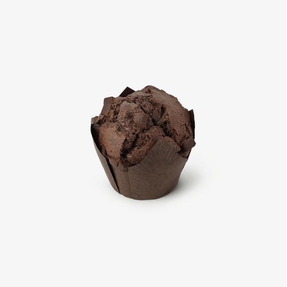 Muffins de Cacao con Pepitas de Chocolate sin gluten