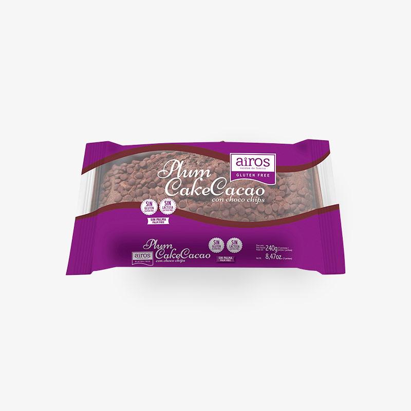 Plum Cake de Cacao con Choco Chips