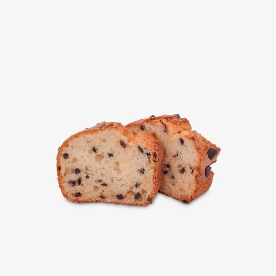 Plum Cake con Choco Chips sin gluten
