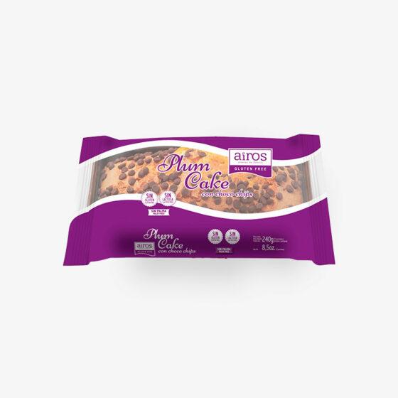 Plum Cake con Choco Chips