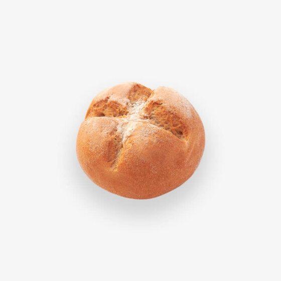 Pan Rústico Redondo Congelado 85g sin gluten