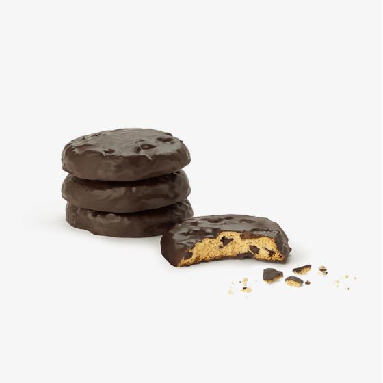 Cookies bañadas con chocolate sin gluten