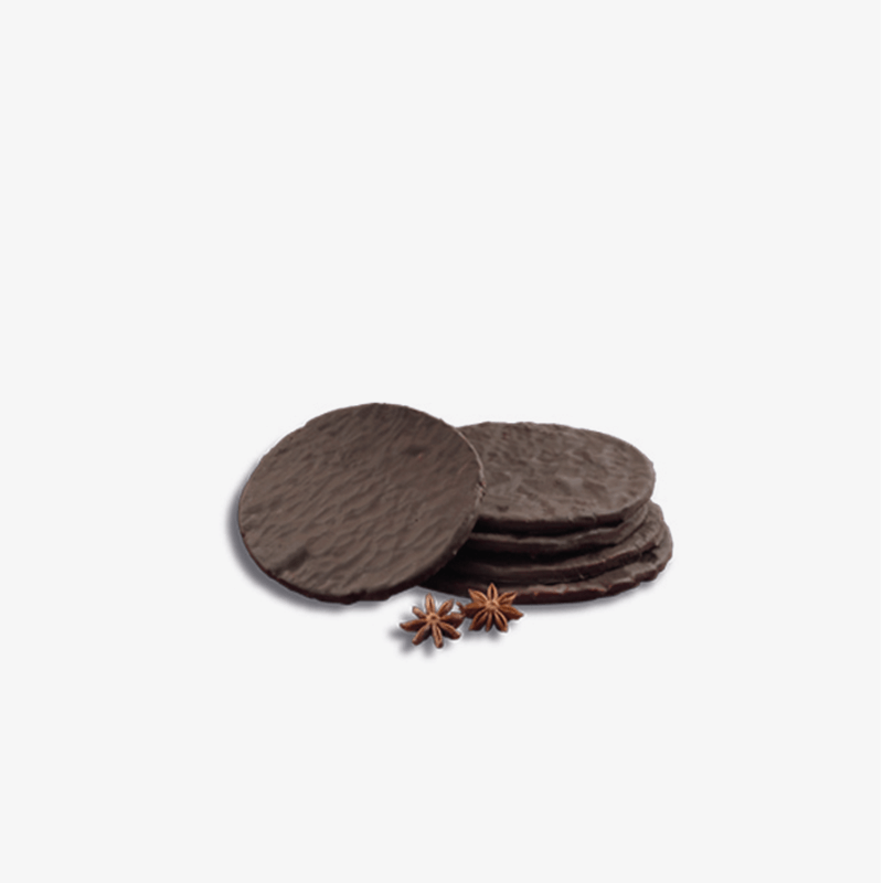 Tortas de anís con chocolate y sin gluten