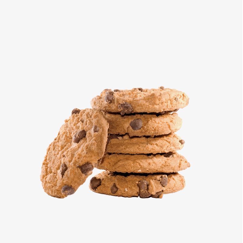 Cookies con pepitas de chocolate sin gluten