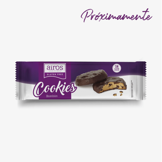 Envase Airos de cookies bombón sin gluten