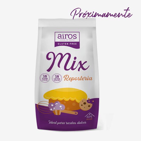 Mix de Repostería sin gluten Airos