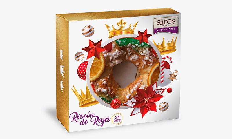 Roscón de Reyes sin gluten para Food Service