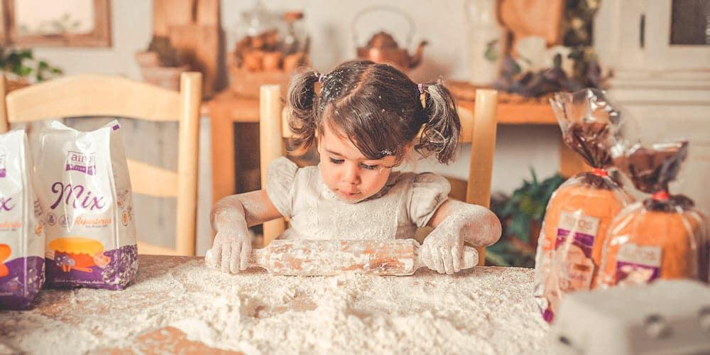 Mix harinas sin gluten para hornear